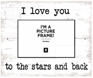 Photo Frame - Stars and Back