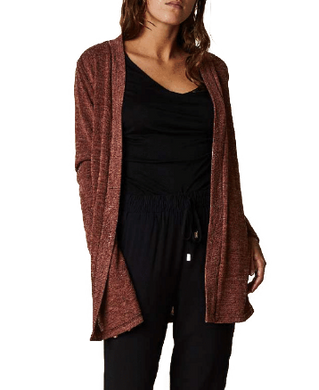 Open Cardigan Mid Length - 2 Colours