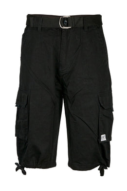 Men's Black Cargo Shorts