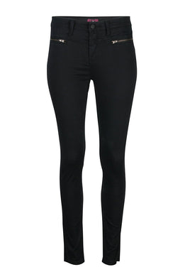 Soft Super Skinny Black Jeans