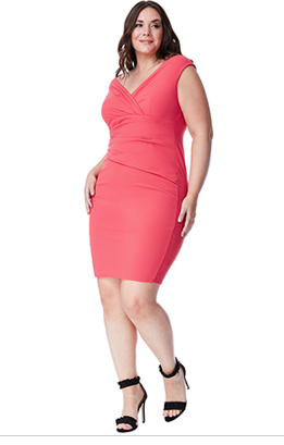 Coral Dress Style DR1092AP