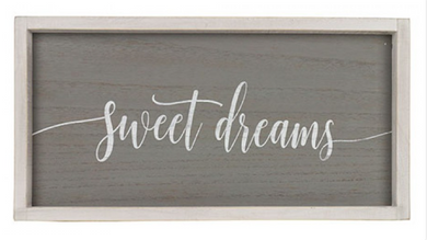 Framed Sign - Sweet Dreams
