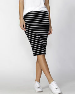 Alicia Midi Skirt - Striped