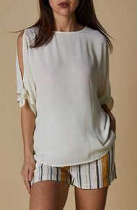 Cherrylane Open Shoulder Top - 3 Colours