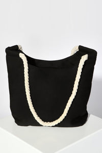 SASS Haven Canvas Bag Black