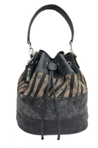 Large Drawstring Shoulder Bag