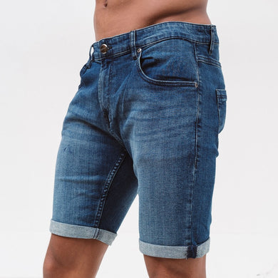 Sterling Denim Shorts - Mid Wash