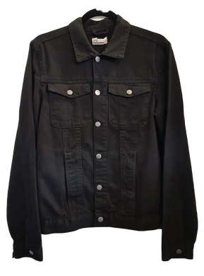 Black Wash Denim Jacket