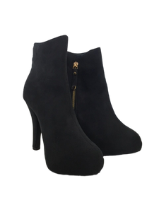 Stefan Smith - Mikka Black Ankle Boots
