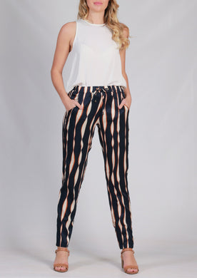 Spicy Sugar Bleached Look Pants