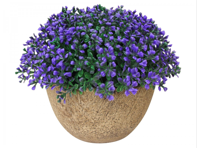 Artificial Plant - Small Purple Heather