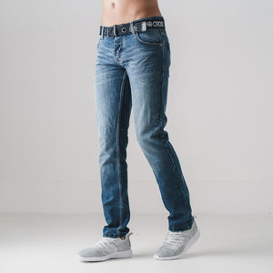 Crosshatch - New Emb Stone Wash Jeans
