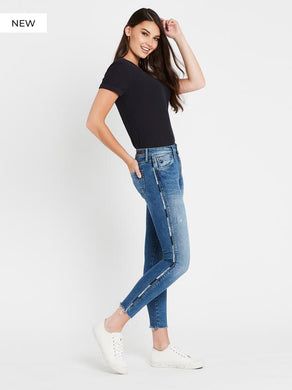 Mavi - Alissa Ankle Mid Cheeky Denim