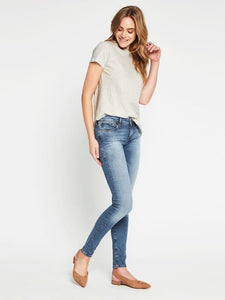 Mavi - Alexa Skinny Jeans in Light Gold Reform