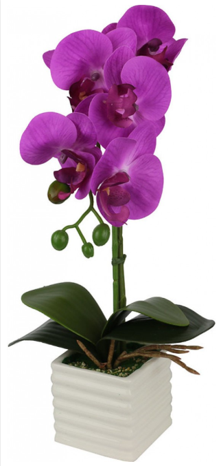 Artificial Plant - Small Purple Orchid