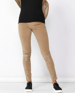 Betty Basic Logan Corduroy Pant Tan