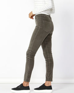 Betty Basic Logan Corduroy Pant Khaki