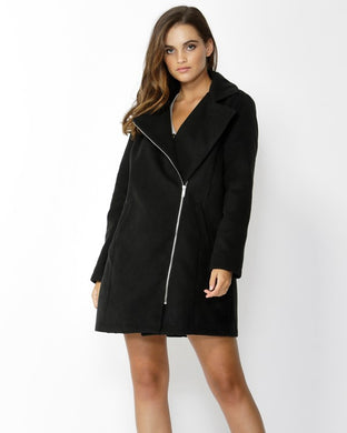 SASS Essential Winter Coat - Black