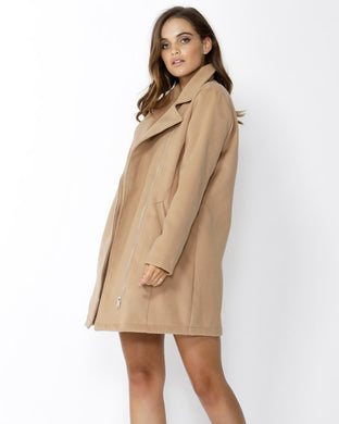 SASS Essential Winter Coat - Cinnamon