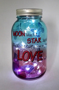 Dream Jar LED Night Light - Moonlight
