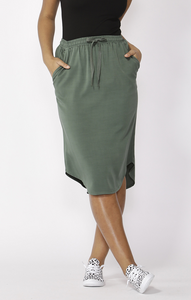 Betty Basics Carson Skirt - Forest