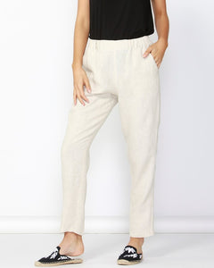 BB Rocco Linen Pants - Natural