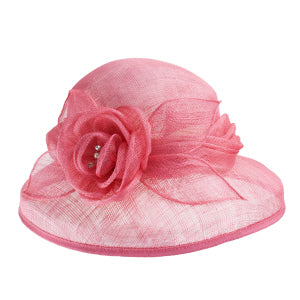 Anne Pink Dress Hat