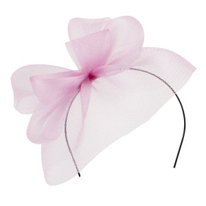 Blair Fascinator - Pink