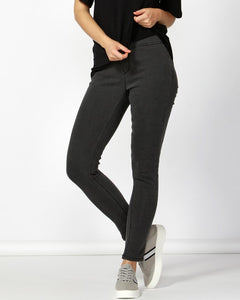 Betty Basics Nixon Stretch Jeans - Charcoal