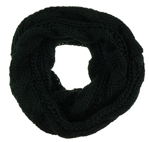 Cable Snood Black