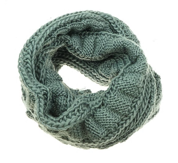 Knitted Snood Grey
