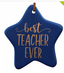 Hanging Star - Best Teacher