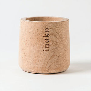 Inoko Timber Small Candle Vessel