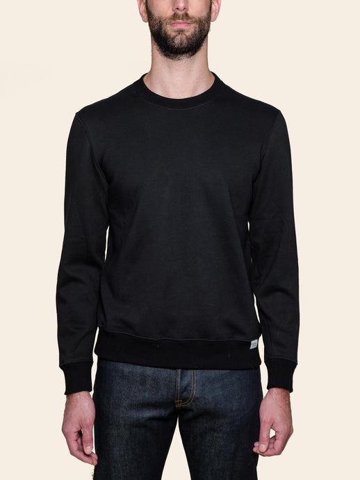 Black Loopback Sweatshirt