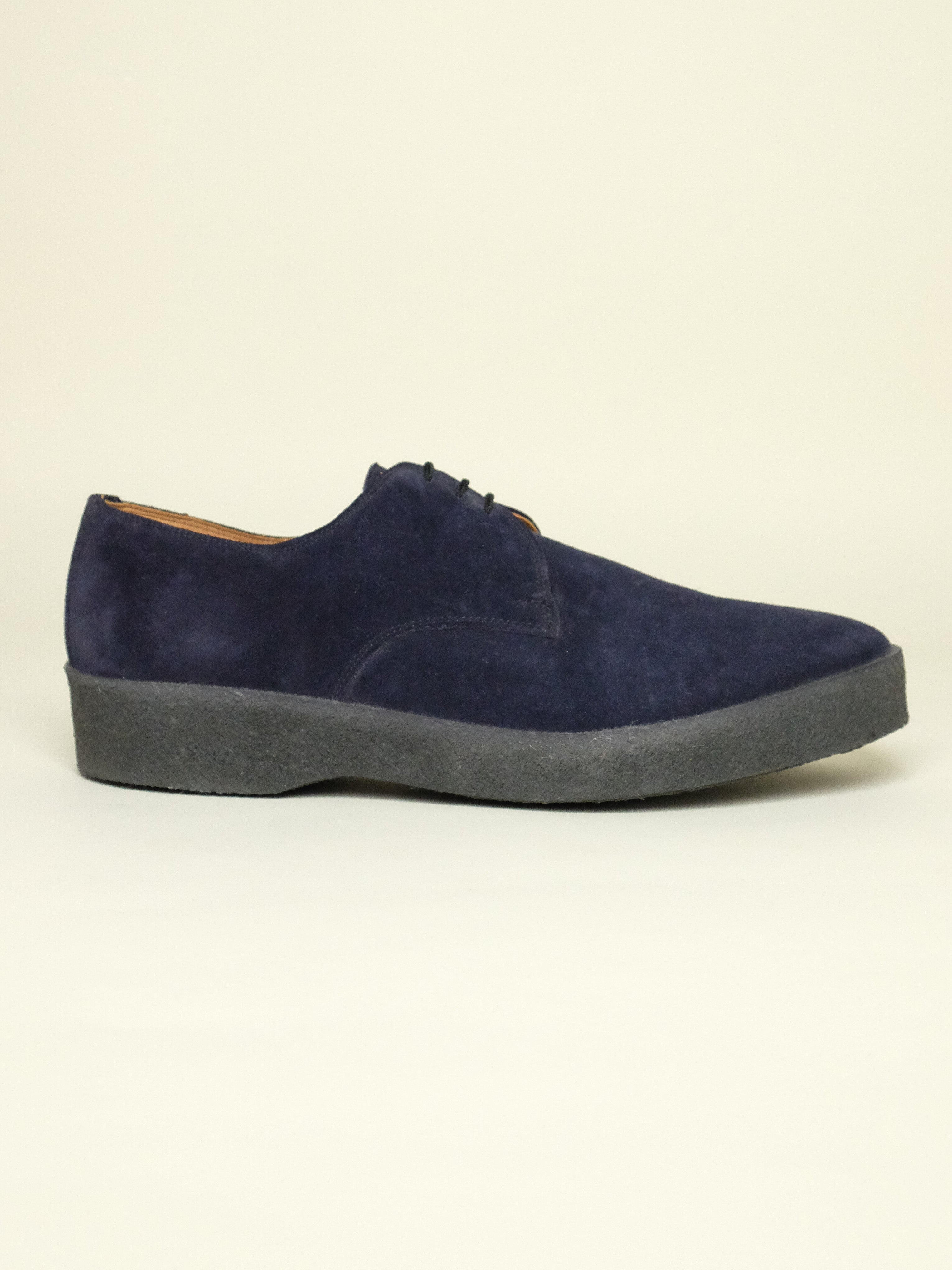 Navy Suede Playboys