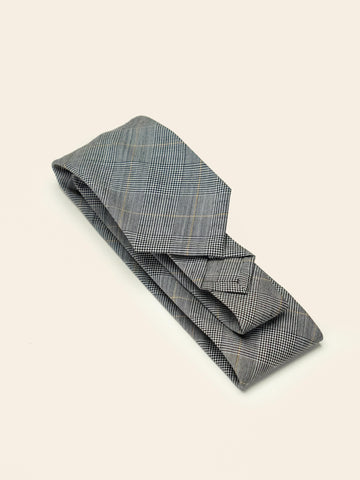 Prince of Wales Wool Sevenfold Tie