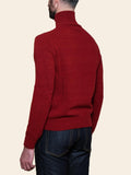 Rust Lambswool Turtleneck