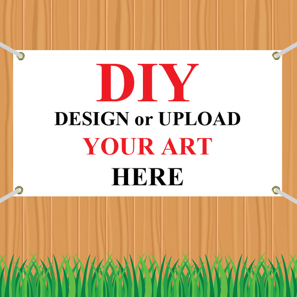 Banner: DIY UPLOAD - CUSTOMIZE IT