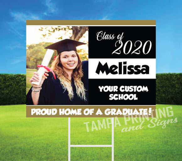 Graduation Yard Sign - DC0523