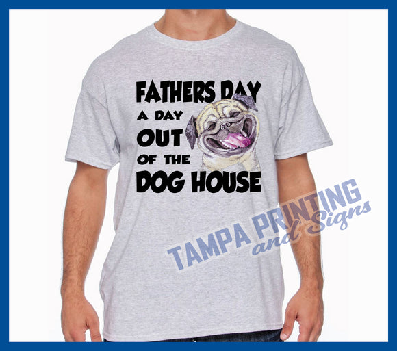 Father's Day Dog Shirt - FD-Dog0524