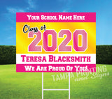 Graduation Yard Sign - G501-4