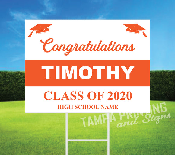 Graduation Yard Sign A425-5