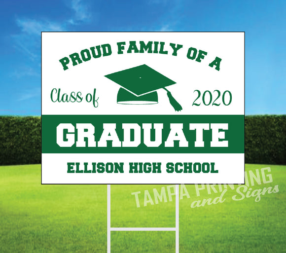 Graduation Yard Sign PF425-02