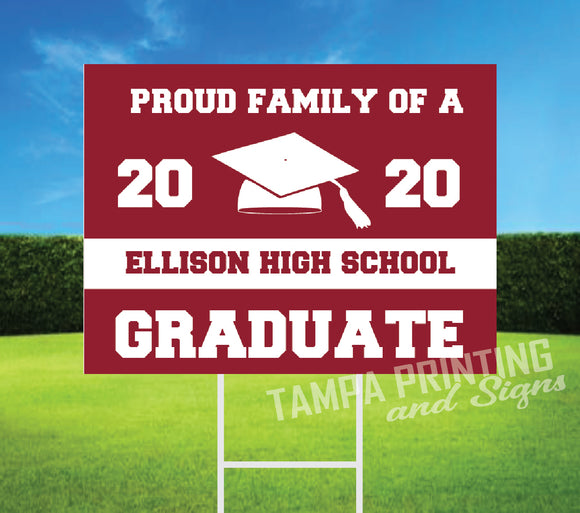 Graduation Yard Sign PF425-03