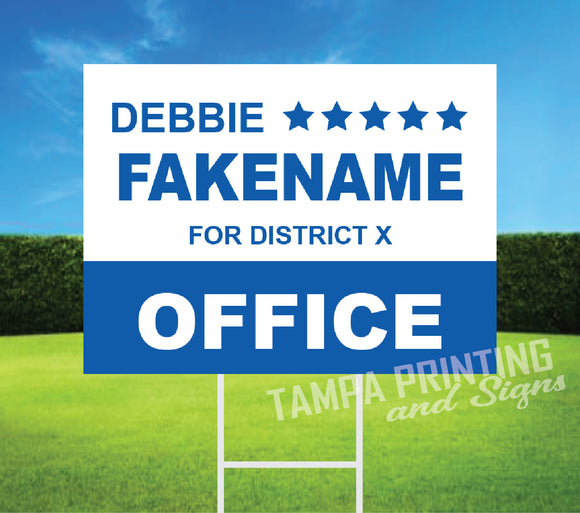 Political Yard Signs - PYS-0523-03
