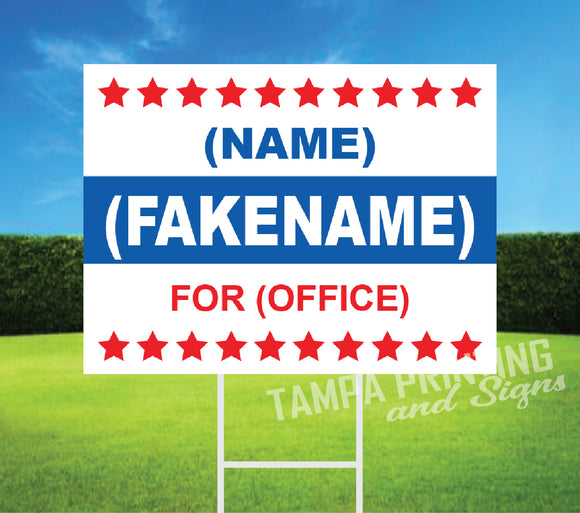 Political Yard Signs - PYS-0523-05