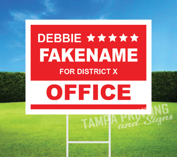 Political Yard Signs - PYS-0523-08
