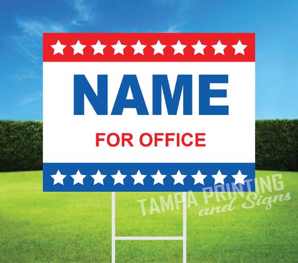 Political Yard Signs - PYS-0523-10