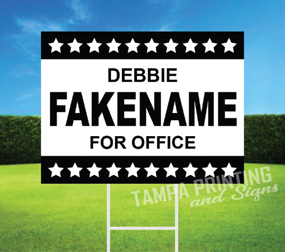 Political Yard Signs - PYS-0523-12