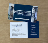 Business Cards for Tailored Living